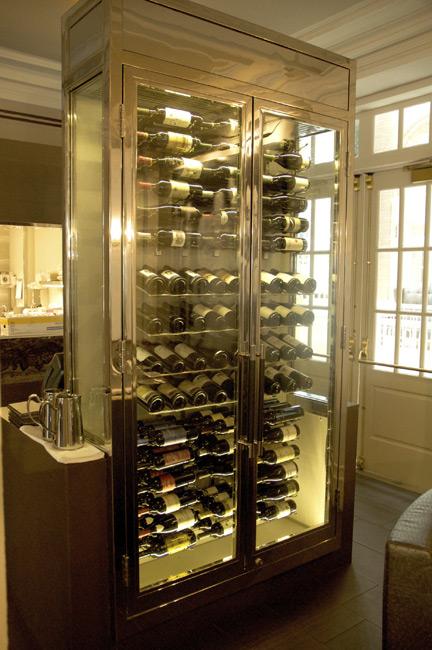 steel wine rack plans