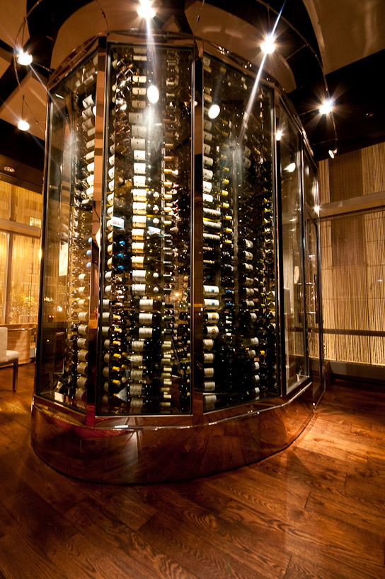 Weu0027ve just completed the metal and glass wine storage cabinet at the Wit Hotel Restaurant in Chicago. Please stop in have a drink and see our work up close ... & restaurant wine storage | Wine Racks u0026 Wine Cellars by Grotto