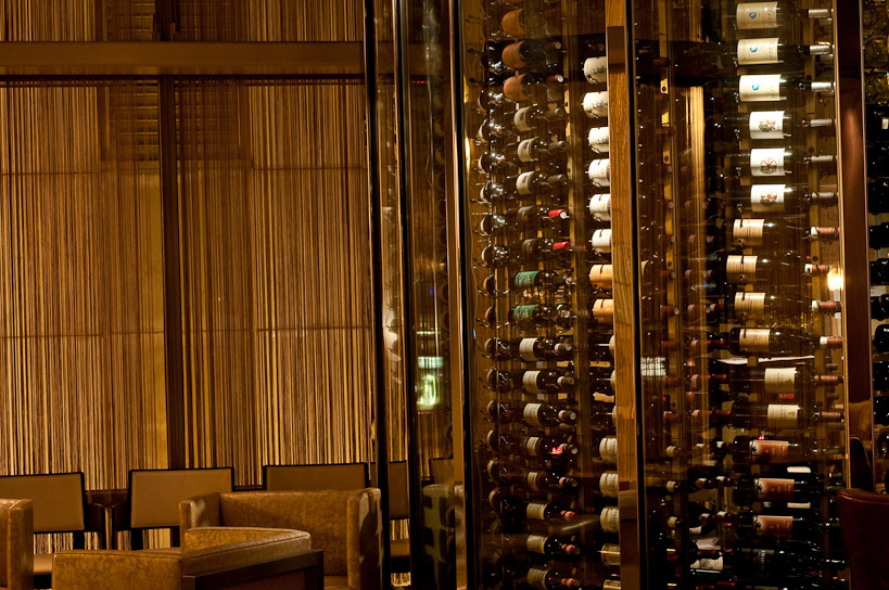 Weu0027ve Just Completed The Metal And Glass Wine Storage Cabinet At The Wit  Hotel Restaurant In Chicago. Please Stop In, Have A Drink And See Our Work  Up Close ...
